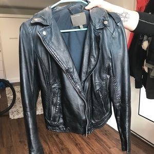 Muubaa Salazar Ombré Leather Jacket US 6
